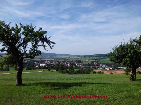 Blick auf Kaltennordheim