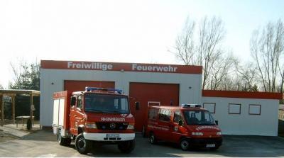 Gerätehaus der FFw Neindorf