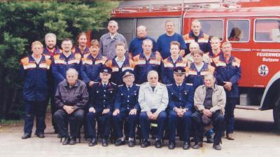Gruppenfoto der Löschgruppe Butzow