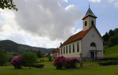 Kath. Allerheiligenkirche Wieden (Aussenansicht)
