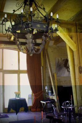 Eingangsbereich mit Kronleuchter