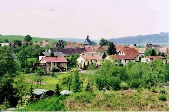 Blick auf Golmsdorf (Foto: Klaus Enkelmann)