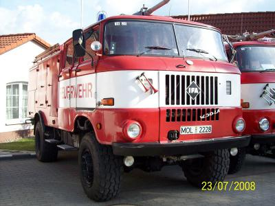 Einsatzfahrzeug TLF-16 W50 FF Sachsendorf