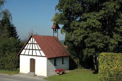 die Kapelle im Ortsteil Ruhlands
