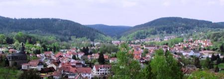 Blick auf Geraberg