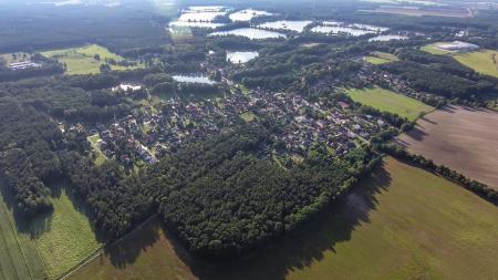 Luftbild Ortsteil Kreba
