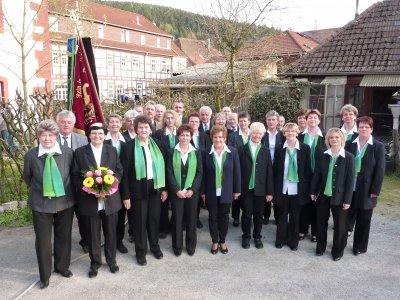 Nach dem Frühlingskonzert 2010 an der Osterkirche Schwarza