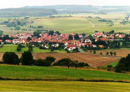 Blick auf Kaltenwestheim
