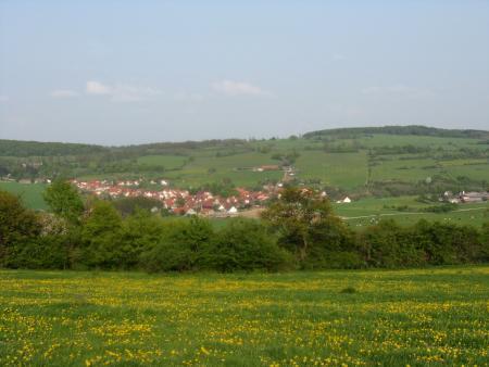 Blick auf Kaltenlengsfeld