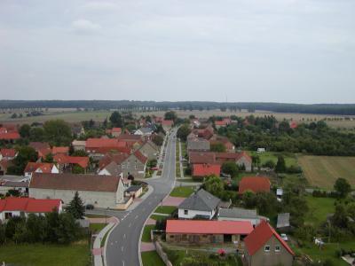 Blick auf die Hagenstraße von Hörsingen