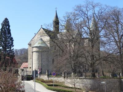 Stiftskirche vom Osten (Einfahrt Burgstr)