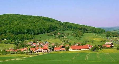 Blick auf Aschenhausen