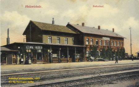 Bahnhof Holzwickede, ca. 1907