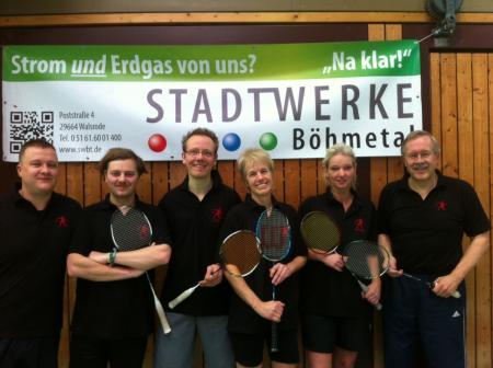 Badminton in der BSG Böhmetal