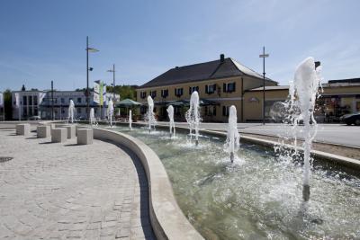Marktplatz mit Brunnen