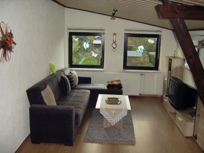 Ferienwohnung: Innenansicht  Wohnzimmer