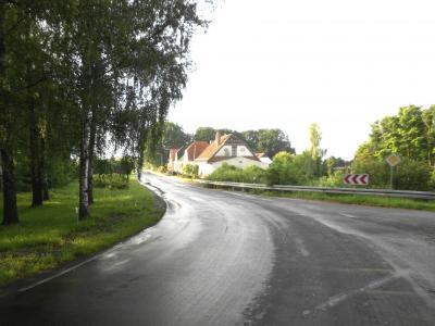 Die Dorfmitte in Fahrenholz
