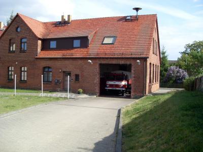 Feuerwehrdepot Dreska