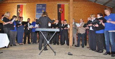 Die Sängervereinigung im Festjahr 2013; Festtage 850 Jahre Gemeinde / 100 Jahre Chorgesang