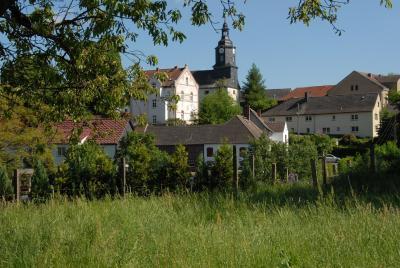 Ortsansicht der Gemeinde Ruttersdorf/Lotschen