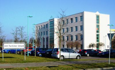 Gebäude der Amtsverwaltung