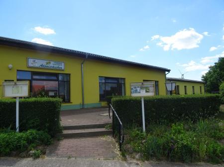 Eingang Gaststätte Foto: Info Punkt Lebus