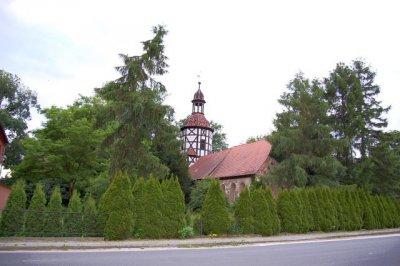 Kirche im Ortsteil Stolzenhain