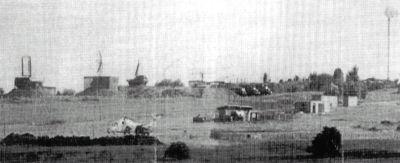 ehemaliges Gelände der Sowjetarmee auf der Hohen Geba