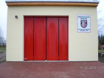 Das neue Feuerwehrgerätehaus in Bagemühl. (Fertigstellung 2013)