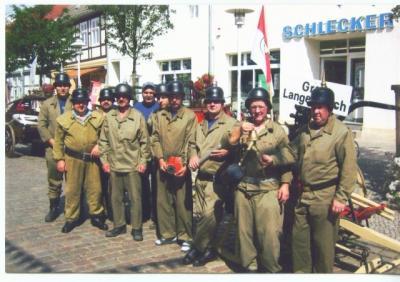 Traditionsfeuerwehr zum 750 Jährigen Stadtjubiläum in Pritzwalk