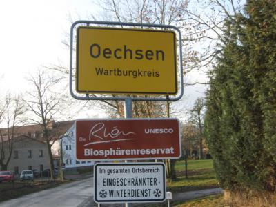 Herzlich willkommen in Oechsen
