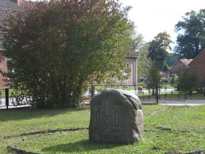Gedenkstein 750 Jahre Jagow