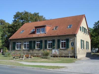 Gemeindezentrum in Schwante - Sitz des Förderverein Regionalpark Krämer Forst e.V.