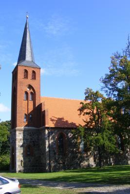 Neugotische Backsteinkirche