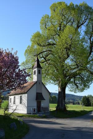 die Kapelle im Ortsteil Heimen