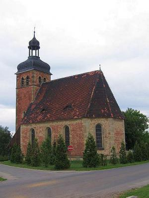 Kirche im Ortsteil Bernsdorf
