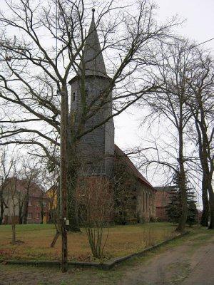 Kirche im Ortsteil Knippelsdorf