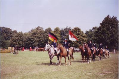 Eröffnungsparade während des Turniers