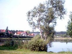 Blick auf den Jeseriger See