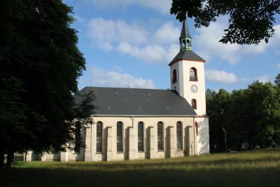 St.-Salvator-Kirche in Jöhstadt