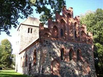 Kirche Batzlow - Foto: Katrin Suhr