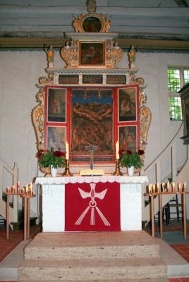 Altar der Moisburger Kirche