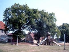 Dorf- und Spielplatz