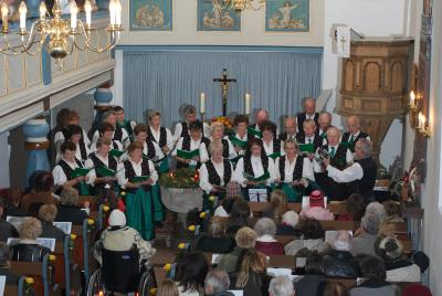 Auftritt in der Stedtlinger Kirche