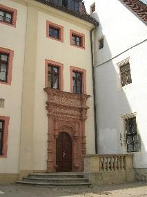 Stadtschule aus dem Jahr 1553 im Renaissancestil