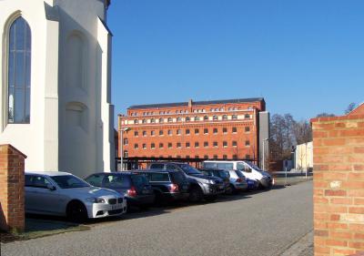 Vorläufiges Domizil im Erdgeschoss des Kreisarchivs hinter der Kulturkirche bis November 2020