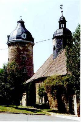 Wasserturm in Lehesten (Foto: Klaus Enkelmann)