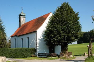 die Kapelle im Ortsteil Mywiler