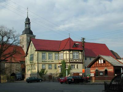 Obermaßfeld, an der Hauptstraße