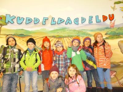 Der Hort-Kinderland macht einen Ausflug ...